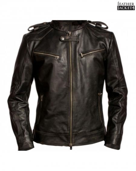 Aaron Paul Breaking Bad Leather Jacket