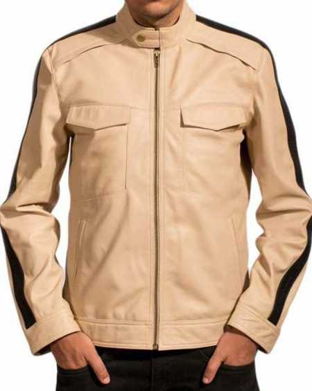 Aaron Paul Need For Speed White Jacket
