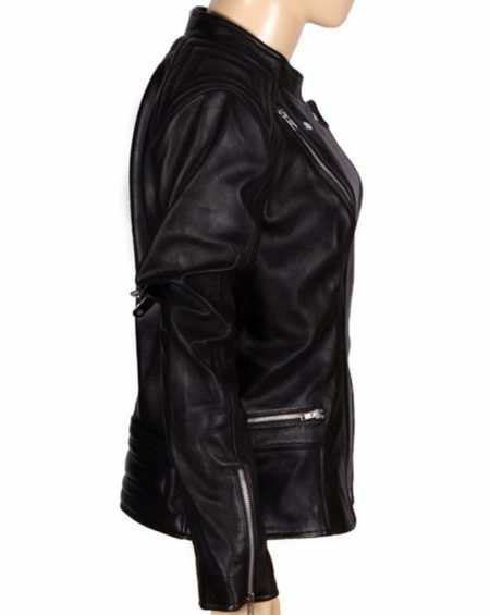 Abbey Crouch Leather Jacket