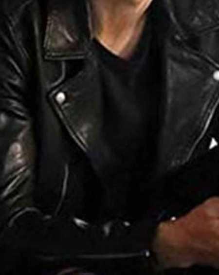 After Hero Fiennes Tiffin Hardin Scott Black Leather Jacket