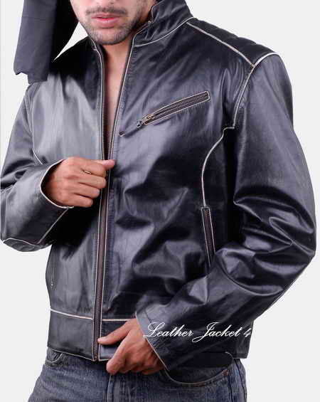Arkansas moto leather jacket