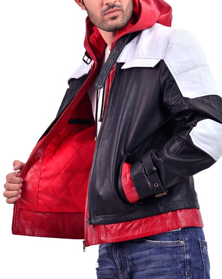 Jason Todd Batman Arkham Knight Red Hood Leather Jacket
