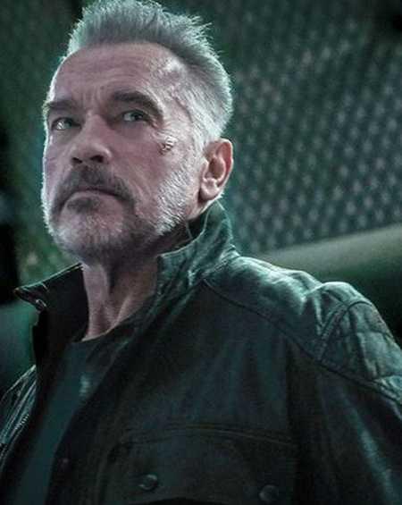 Arnold Schwarzenegger Terminator Dark Fate Jacket