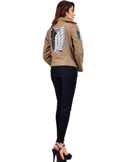 Attack on Titan Jacket Female Scout Regiment