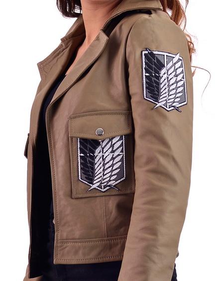 Attack on Titan Jacket Female Scout Regiment