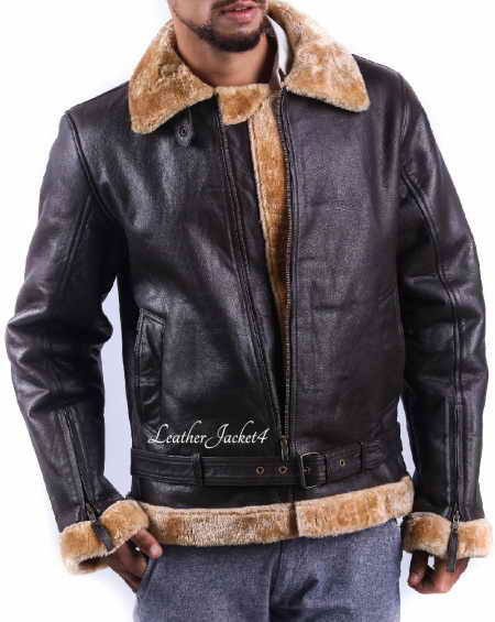 Sheepskin B-3 Bomber Jacket
