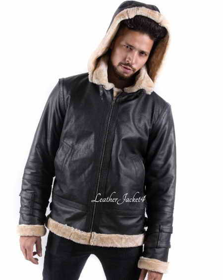 Hooded B3 Bomber Jacket