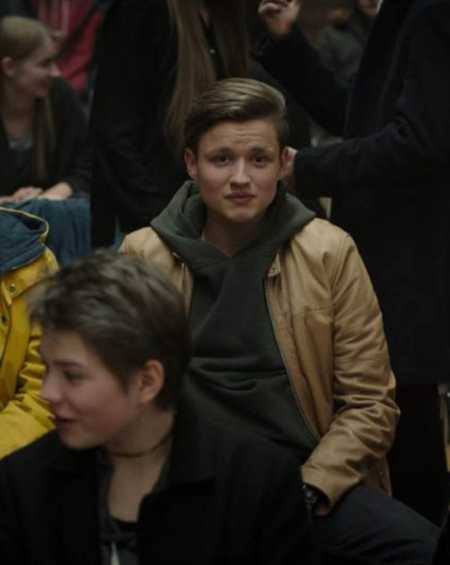 Bartosz Tiedemann Cafe Racer Leather Jacket