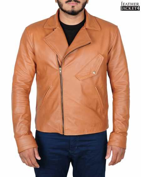 Beautiful Creatures 2013 Alden Ehrenreich Leather Jacket