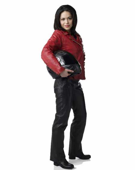 Ben 10 Alien Swarm Elena Validus Leather Jacket