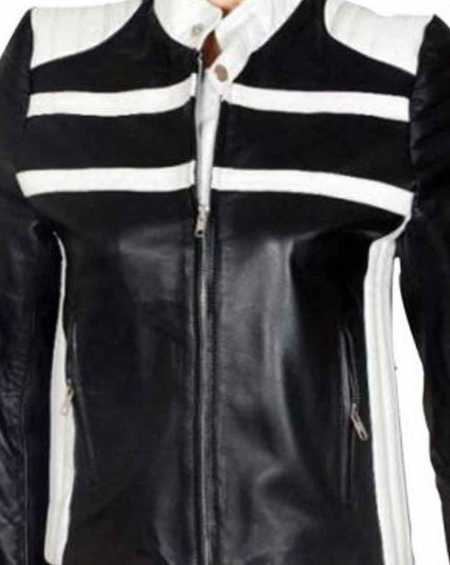 Blonde Ambition Jessica Simpson Biker Jacket