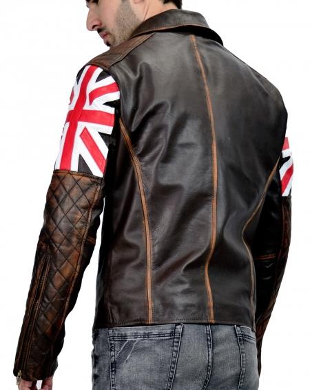 British Biker Leather Jacket