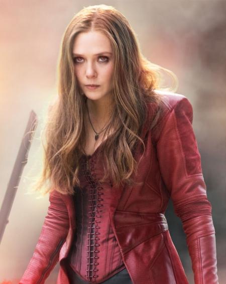 Captain America Civil War Scarlet Witch Coat