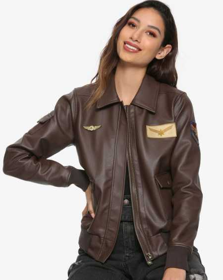 Captain Marvel Brie Larson Flight Bomber Jacket