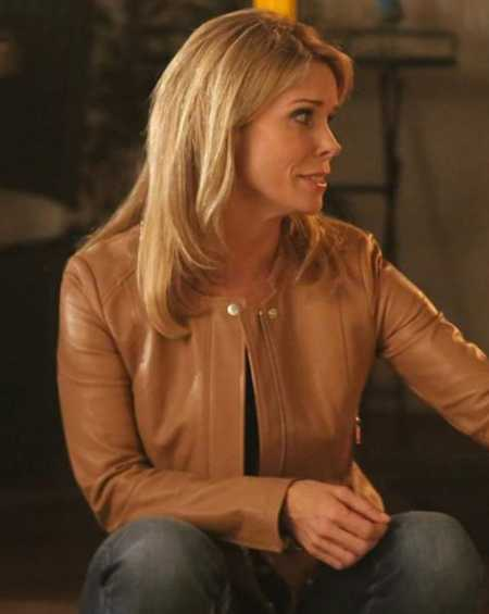 Cheryl Hines Son of Zorn Leather Jacket