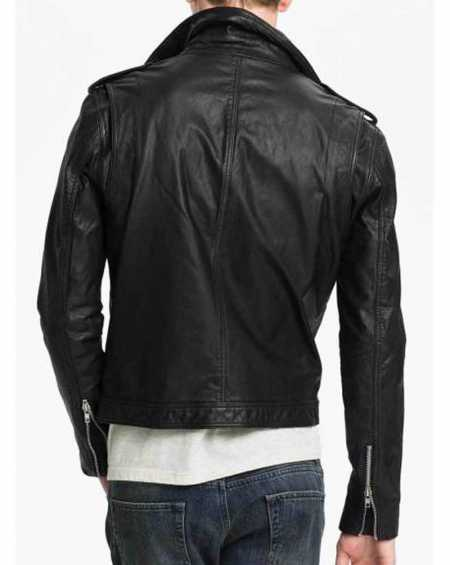 Christian Grey Fifty Shades Of Grey Leather Jacket