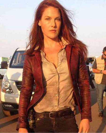 Ali Larter Resident Evil The Final Chapter Leather Jacket