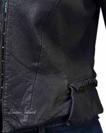 Leather Jacket for College Teens