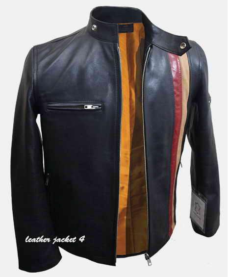 X - Men Cyclops Scott Leather Jacket