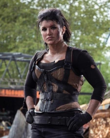 Angel Dust Deadpool Gina Carano Brown Vest
