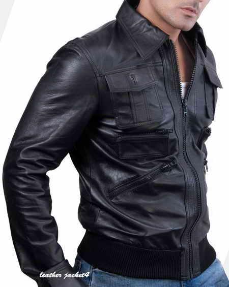 Dorian New York Lamb Leather Jacket