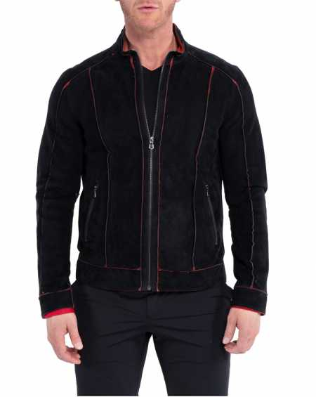 Edge Genuine Leather Jacket for Men