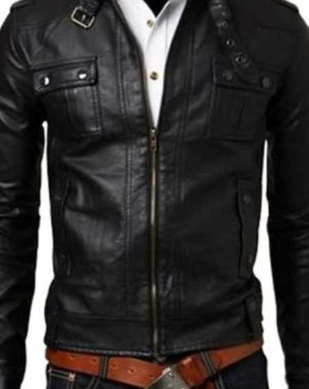 Eric Bana The Finest Hours Leather Jacket