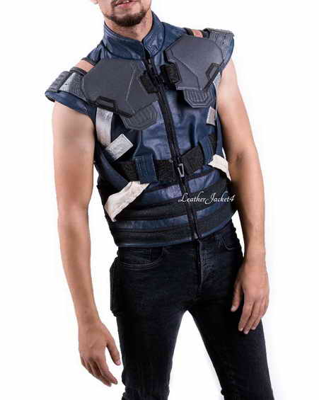 Erik Killmonger Black Panther Vest
