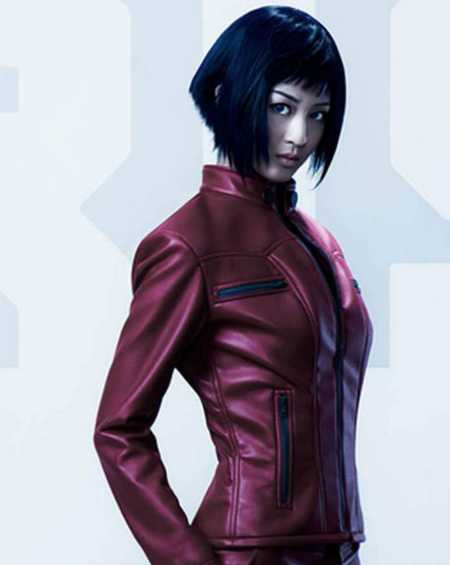 Ghost In The Shell Arise Leather Jacket