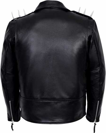 Ghost Rider Men's Black Metal Spikes Jacket