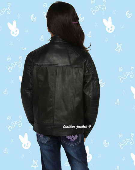 Girls Biker Jacket