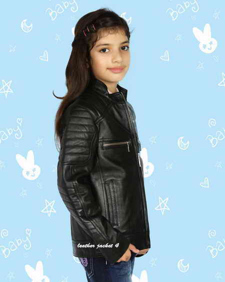 Girls Biker Jacket