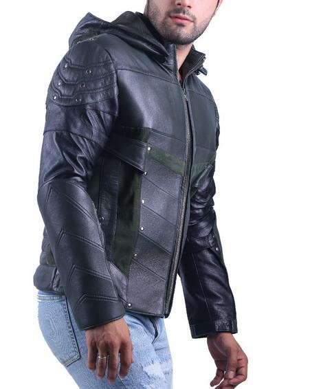 Stephen Amell Green Arrow Jacket
