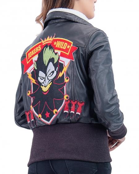 Suicide Squad Property of Joker Harley Quinn Jacket