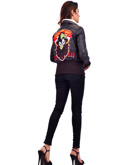 Suicide Squad Property of Joker Harley Quinn Jacket