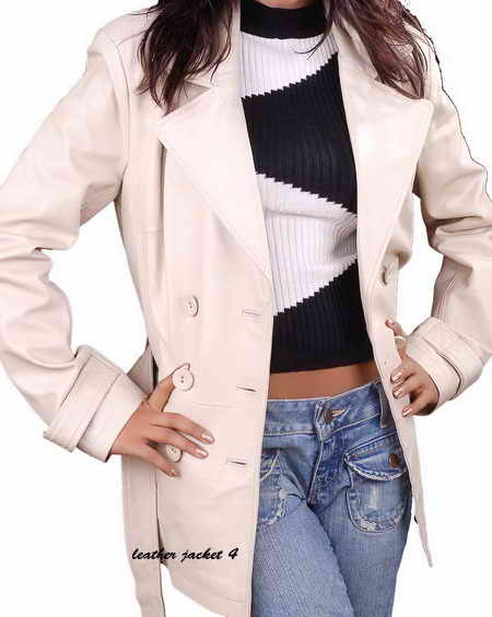 Women Lamb Leather Coat