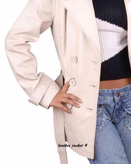 Women Lamb Leather Coat