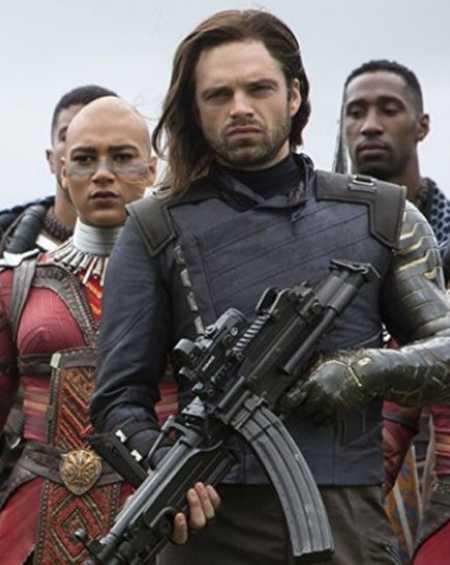 Avengers Infinity War White Wolf Jacket