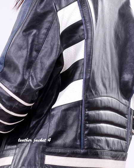 Womens Motorbike Leather Jacket
