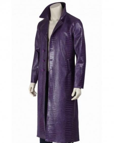 Jared Leto Crocodile Joker Coat