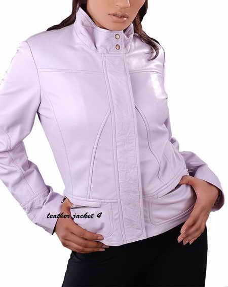 Jenna Lamb Leather Moto Jacket