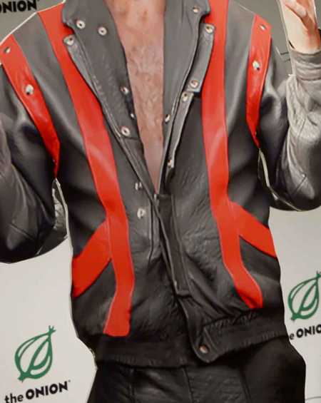 Joe Biden Silver Leather Jacket
