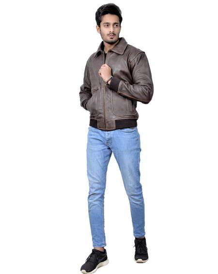 Joe Biden Aviator Leather Jacket