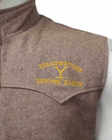 John Dutton Yellowstone S03 Vest