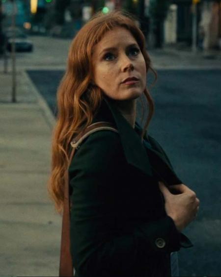 Amy Adams Justice League Lois Lane Coat