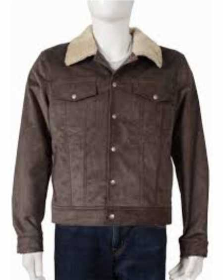 Yellowstone Kevin Costner Corduroy Jacket