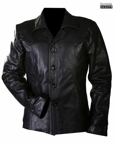 Killing Them Softly Brad Pitt Casual Leather Jacket