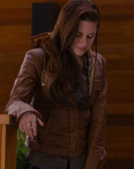 Bella Swan Twilight Movie Kristen Stewart Leather Jacket