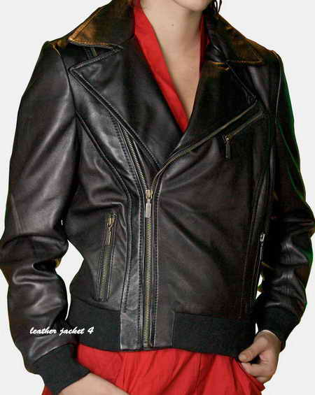 Lady Biker Leather Jacket