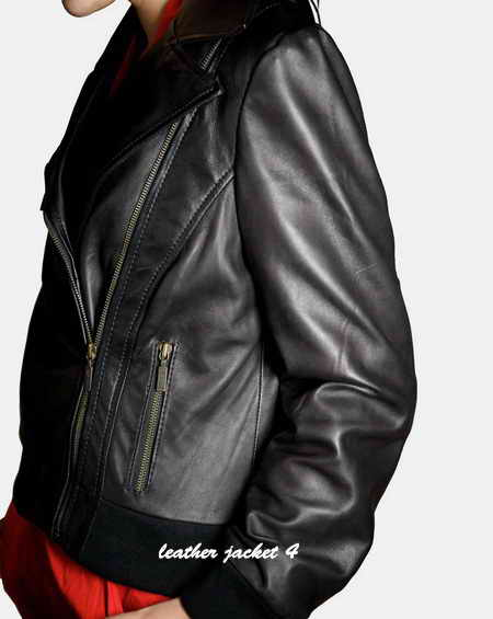 Lady Biker Leather Jacket